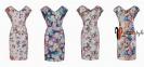 Летнее платье с цветочным принтом 0