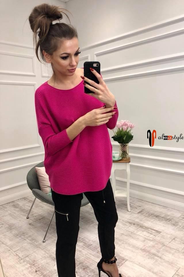 Цветные тонкие свитера, оверсайз, короткие