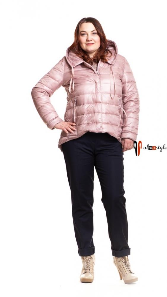 Куртка розовая, с капюшоном, на весну, легкая