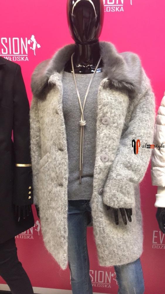 Пальто, шерсть 50%, легкое, демисезонное