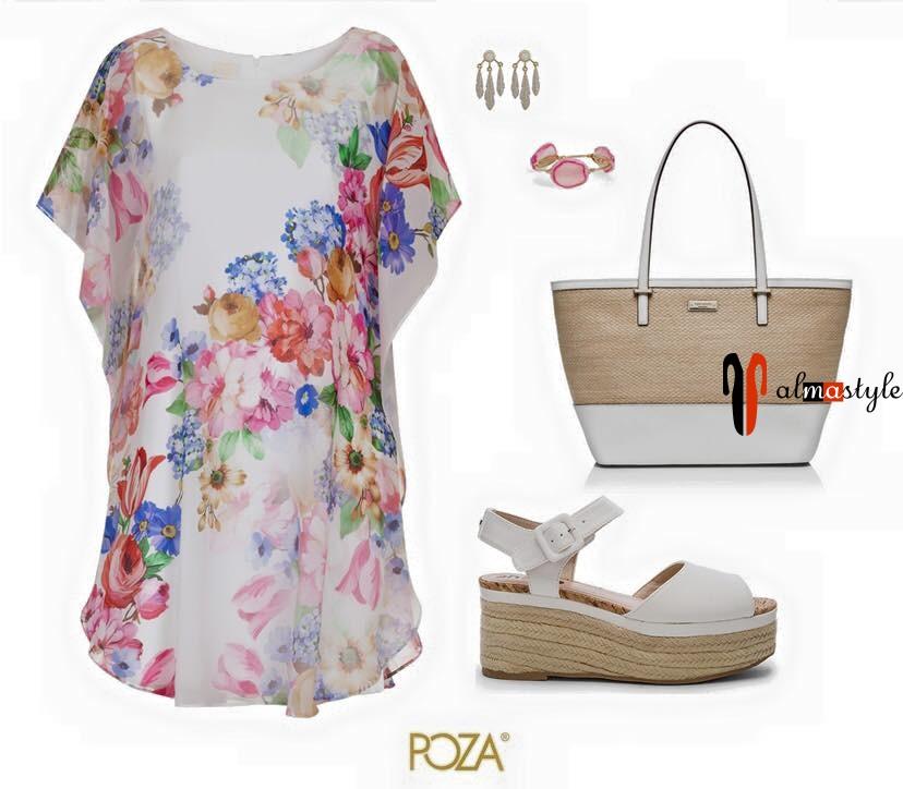 Легкое, короткое платье, цветочный принт
