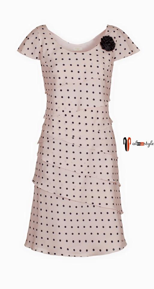 Платье летнее, многослойное